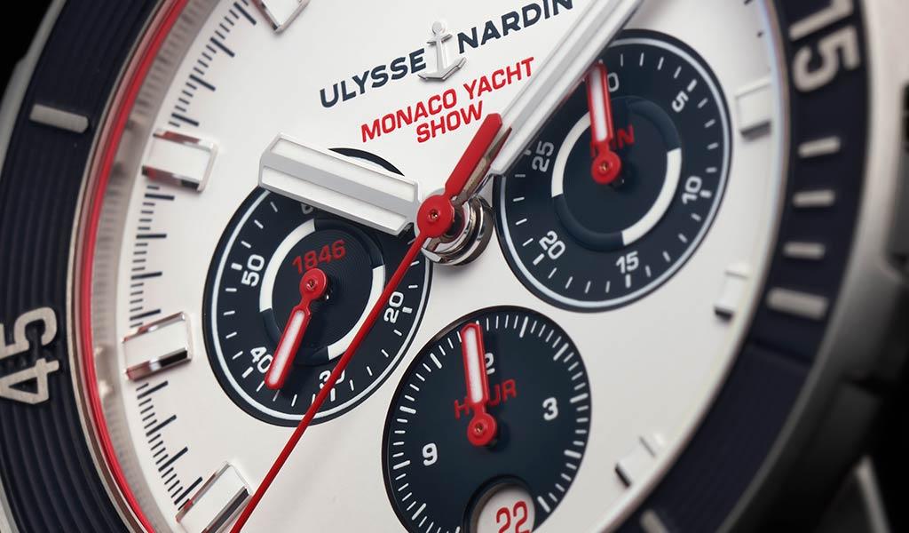 Швейцарский механический хронограф Ulysse Nardin