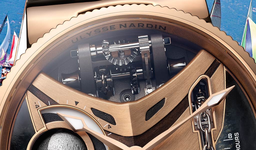 Швейцарские механические часы Marine Mega Yacht