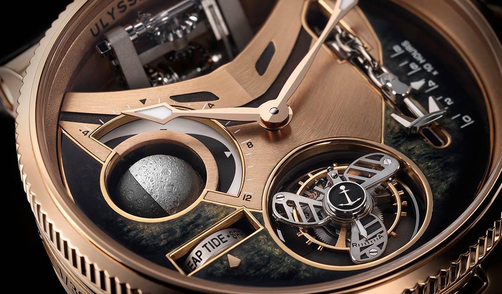 Швейцарские часы с турбийоном Marine Mega Yacht
