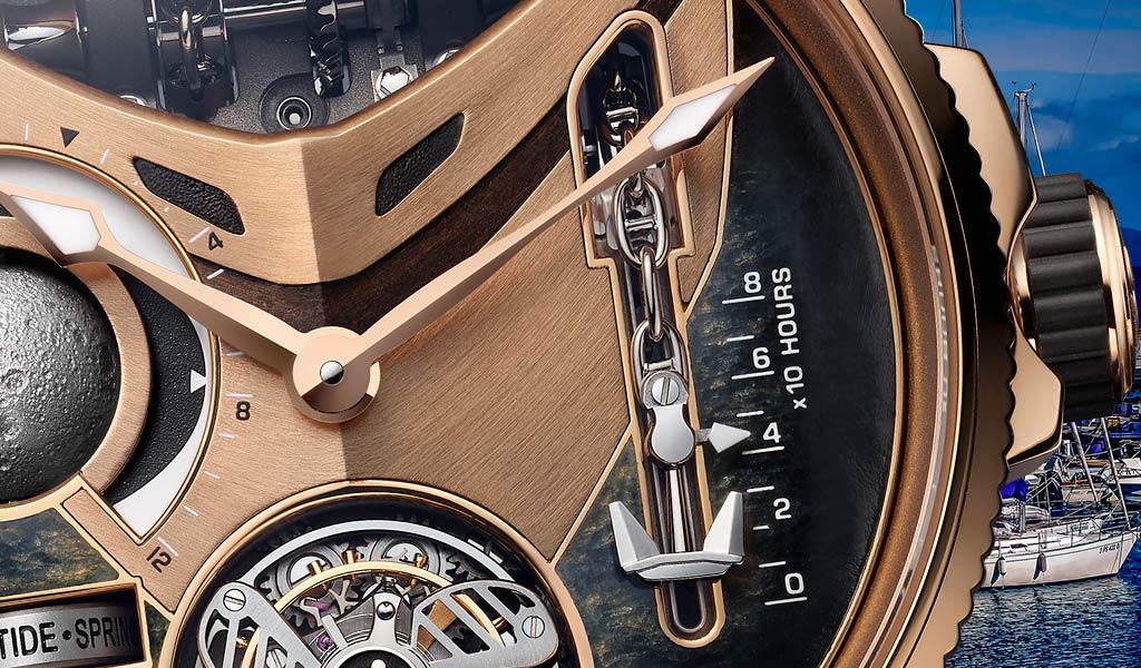 Лимитированные швейцарские часы Marine Mega Yacht