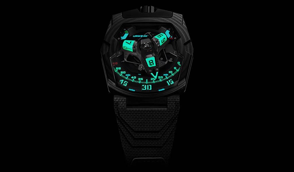 Новые наручные часы UR-220 SL Asimov