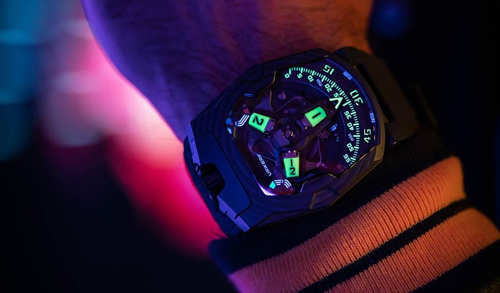 Механические часы UR-220 SL Asimov