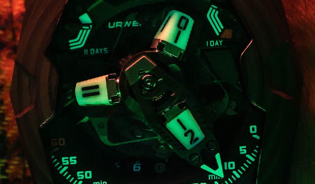 Механические наручные часы UR-220 SL Asimov