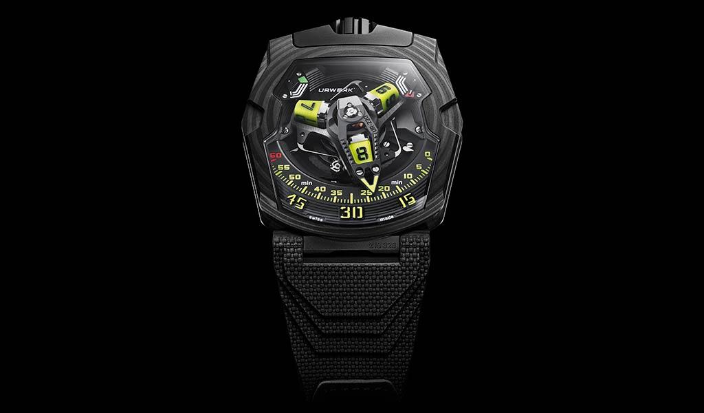 Новые механические наручные часы UR-220 SL Asimov