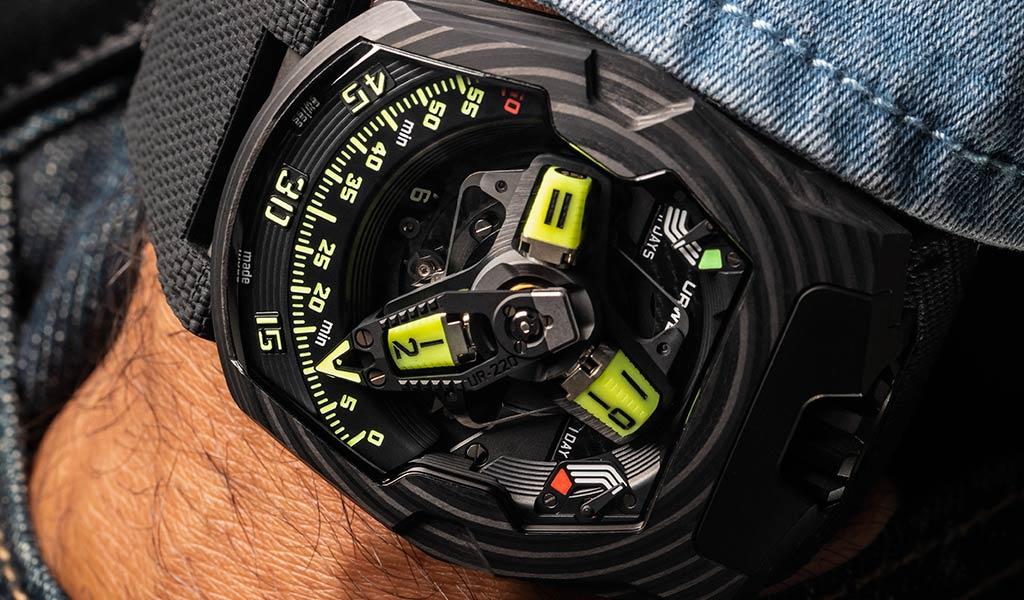 Новые часы URWERK UR-220 SL Asimov