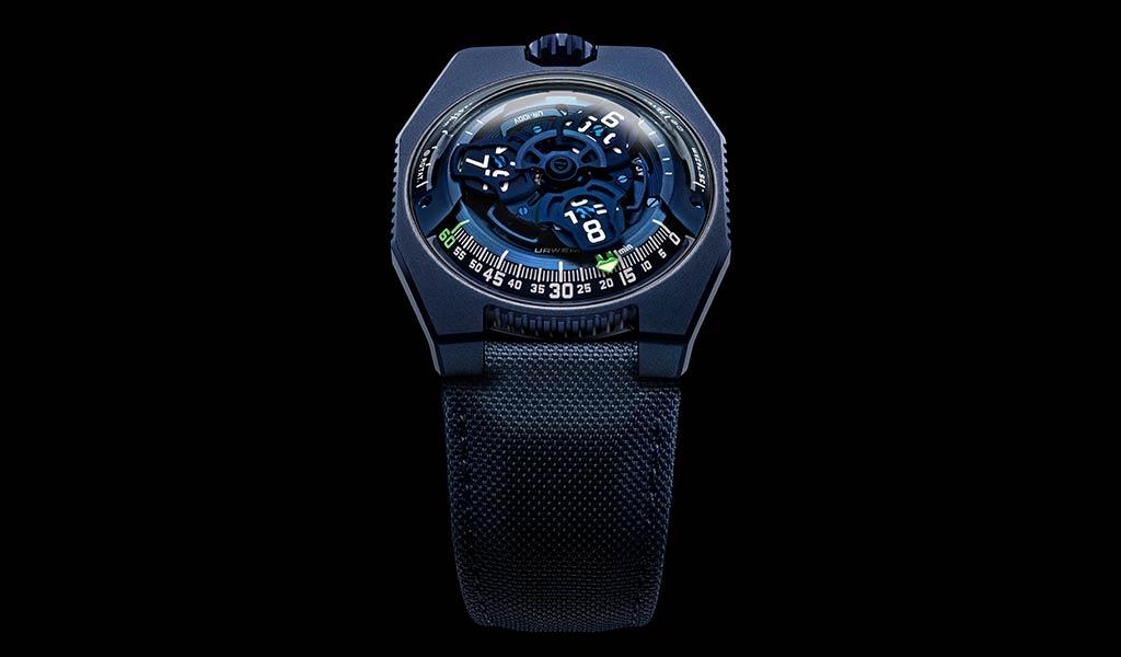 Новые часы UR-100V «Голубая планета»