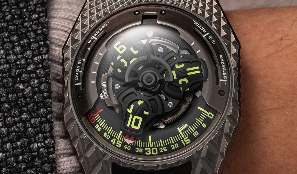 Новые наручные часы UR-100V «T-Rex»