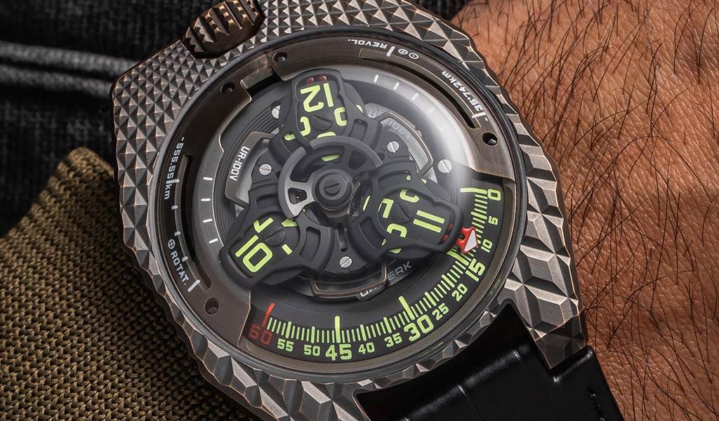 Механические часы UR-100V «T-Rex»