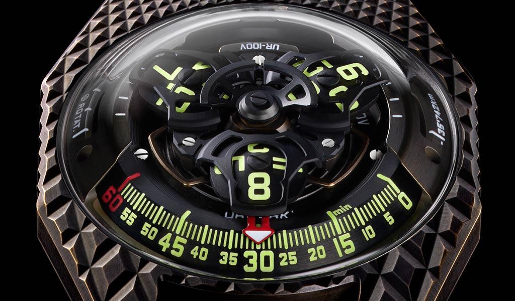 Новые наручные часы URWERK