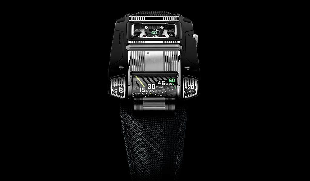 Часы наручные URWERK UR-111C Two-Tone