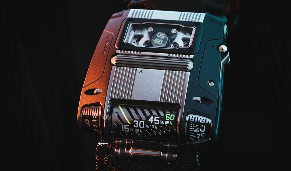 Наручные часы URWERK UR-111C Two-Tone