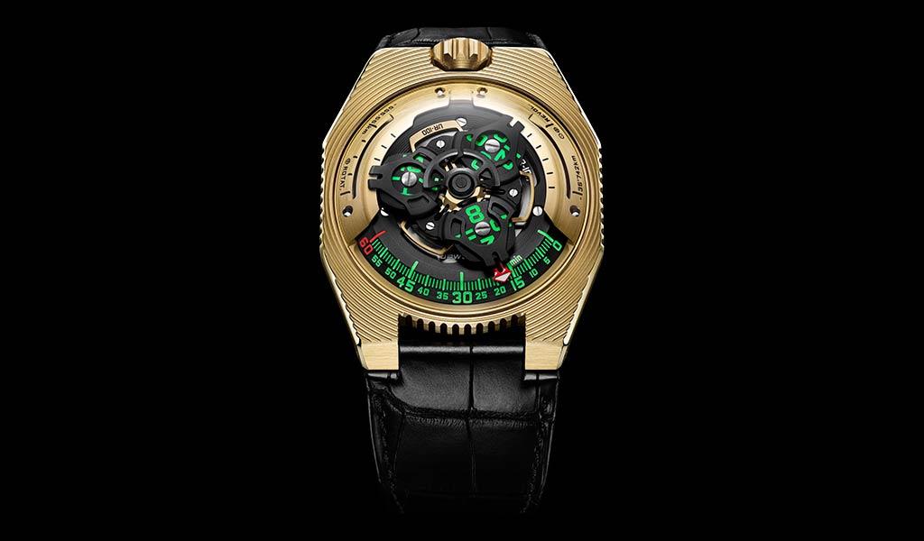Швейцарские часы URWERK UR-100 Electrum