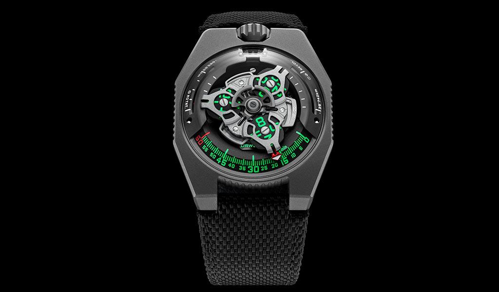 Часы URWERK UR-100 GunMetal