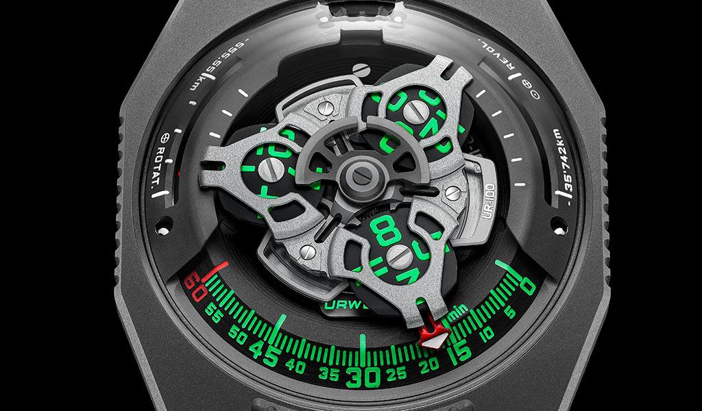 Часы UR-100 GunMetal