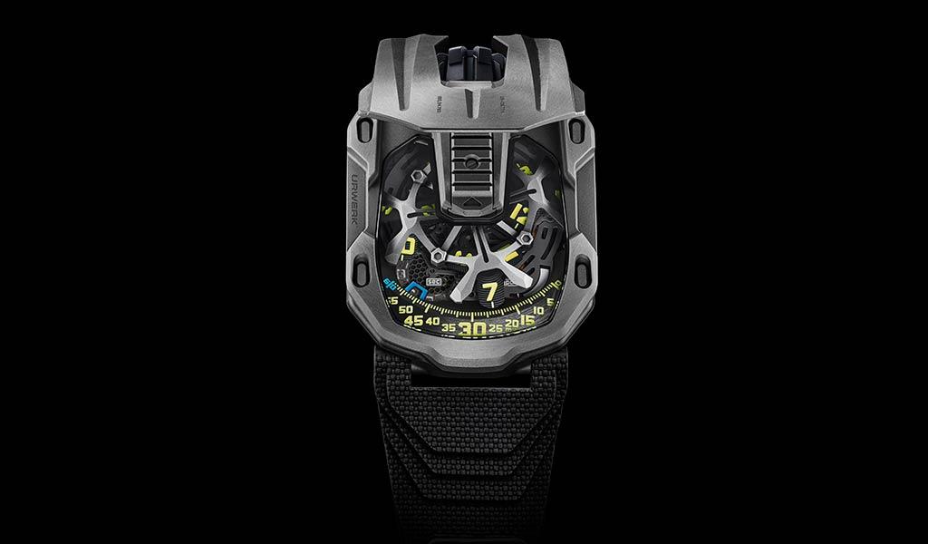 Новые механические часы UR-105 Tantalum Hull