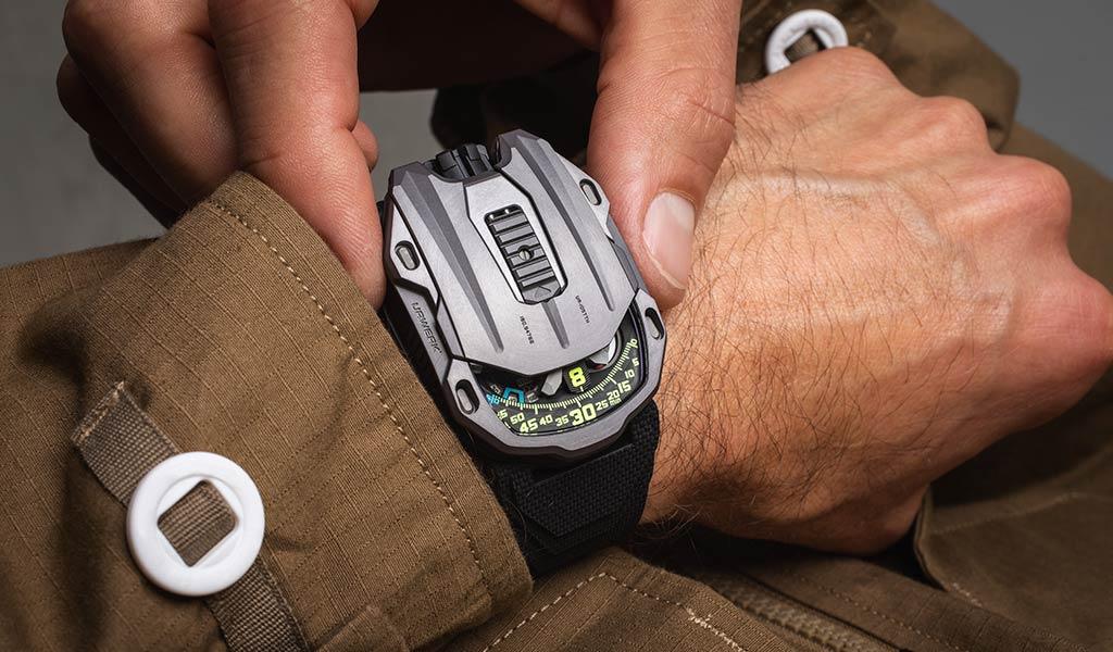 Новые наручные часы UR-105 Tantalum Hull