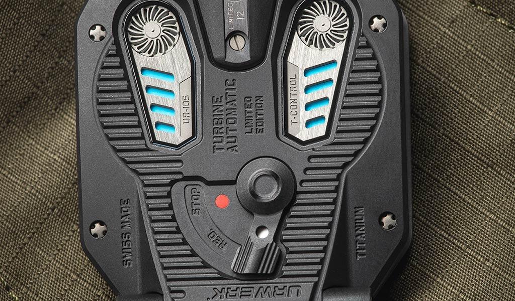 Механические часы UR-105 Tantalum Hull