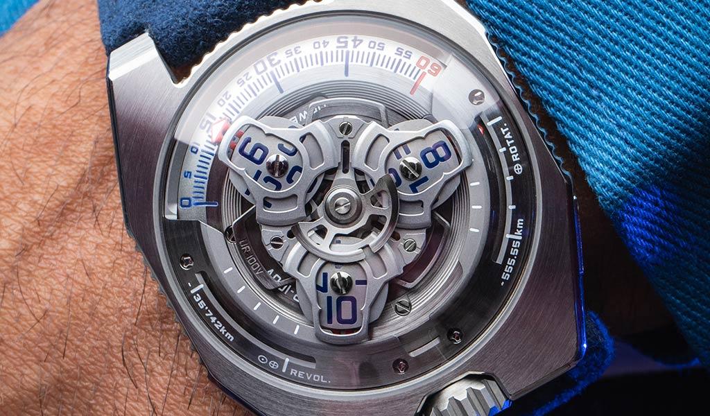 Часы UR-100V Iron