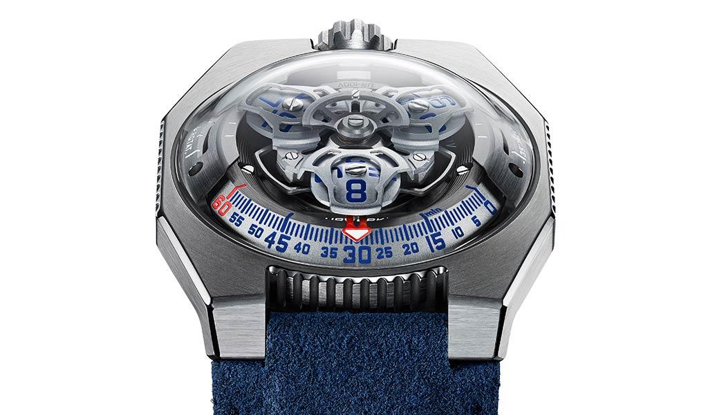 Новые механические часы UR-100V Iron