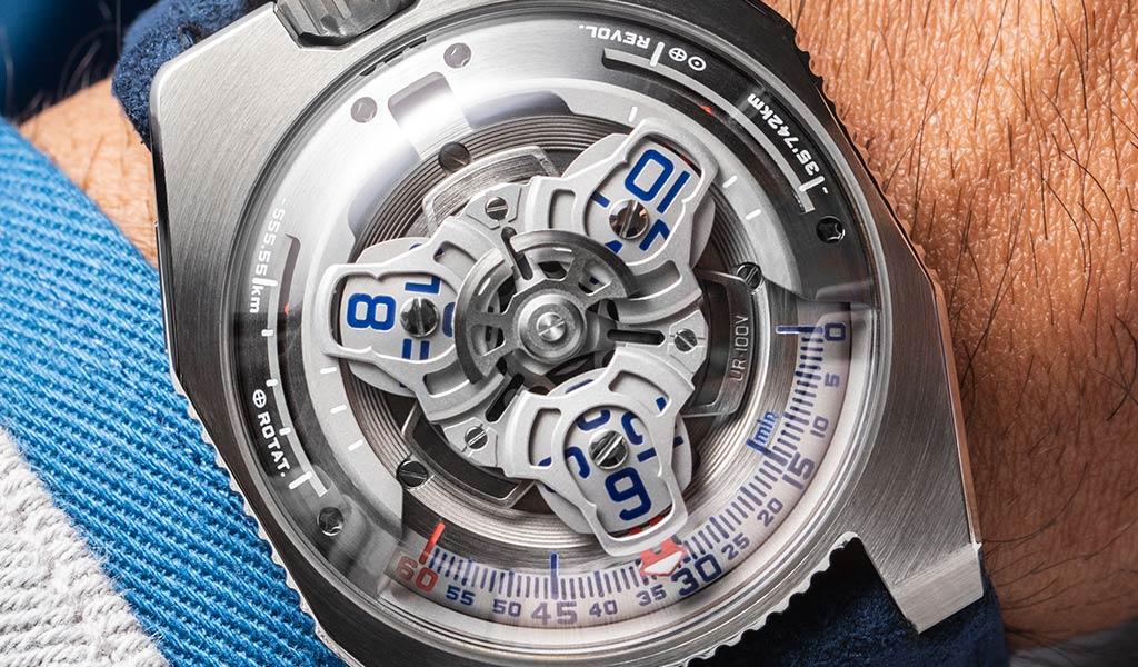 Новые наручные часы UR-100V Iron