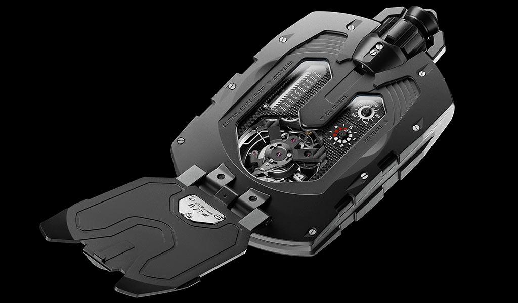 Часы с усложнением URWERK UR-1001 Zeit Device