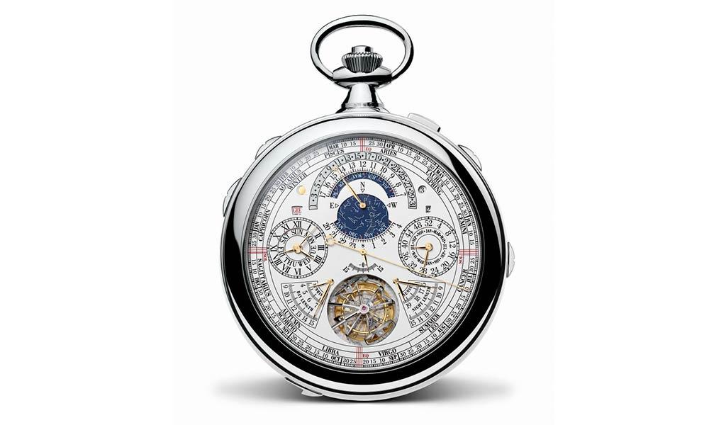 Карманные часы турбийон Vacheron Constantin