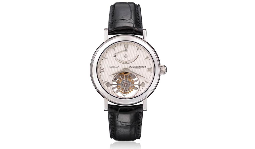 Наручные часы из платины с турбийоном, модель 30050