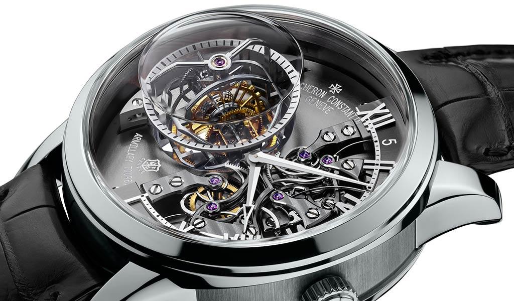Швейцарские часы с турбийоном Vacheron Constantin