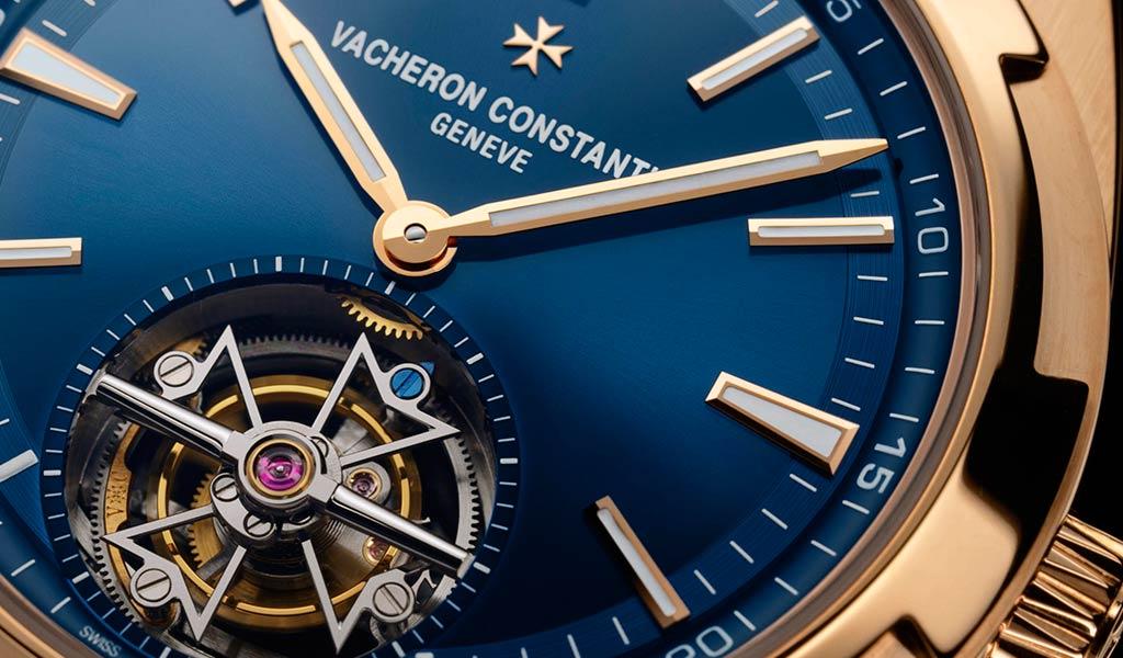 Швейцарские наручные часы с турбийоном Vacheron Constantin