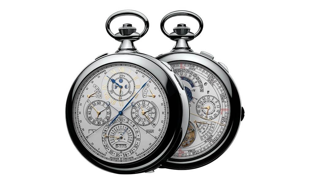 Швейцарские карманные часы с турбийоном Vacheron Constantin