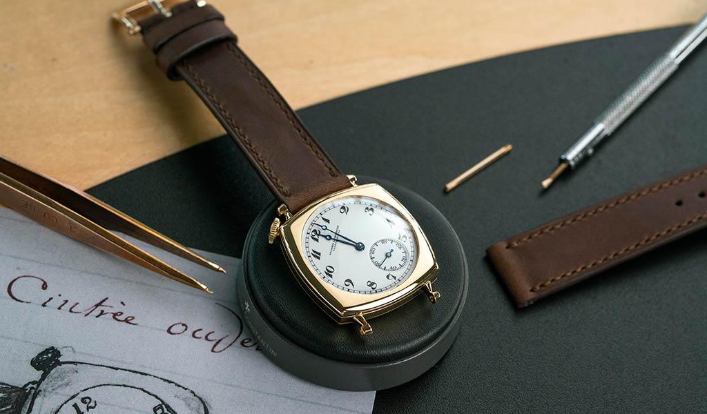 Швейцарские механические мужские часы Vacheron Constantin