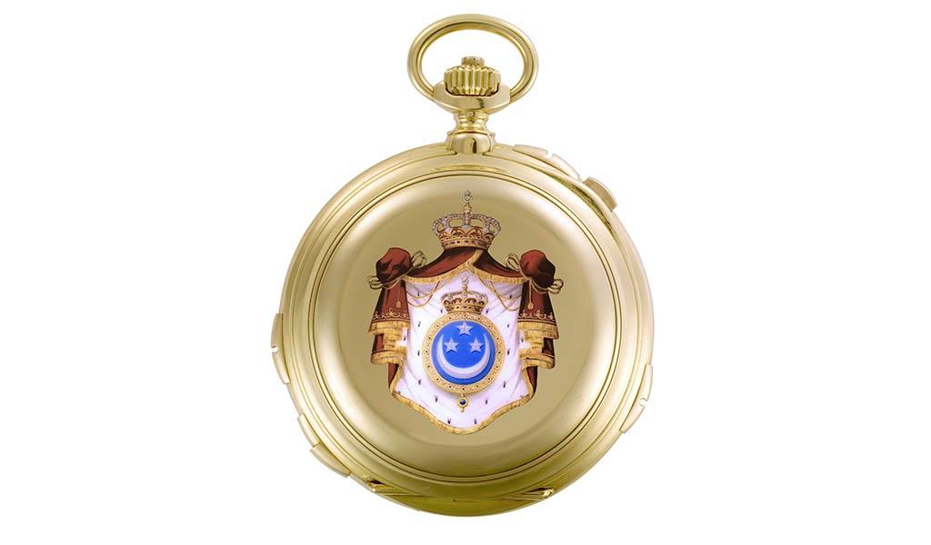 Швейцарские механические карманные часы Vacheron Constantin