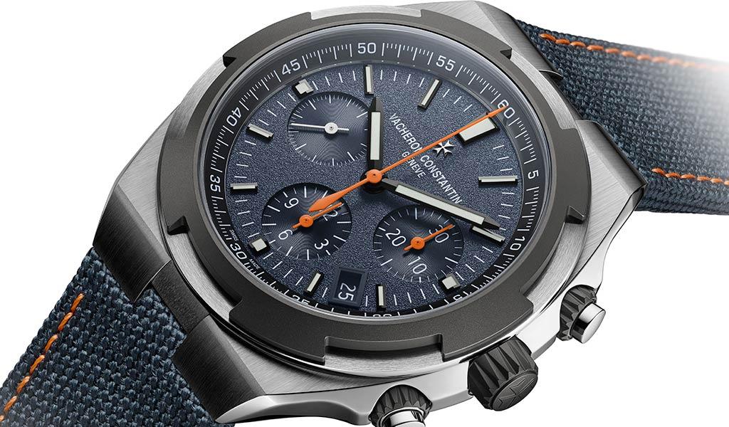 Новые швейцарские часы Overseas Everest с хронографом