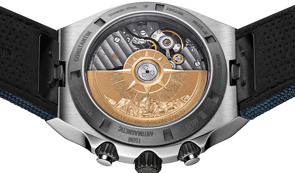 Новые наручные часы Overseas Everest с хронографом