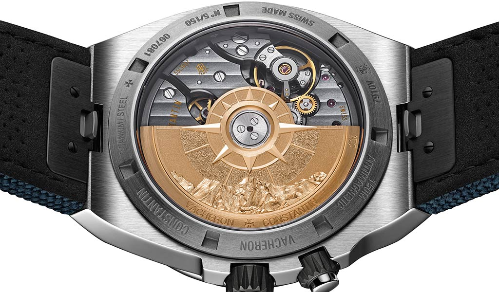 Часы Overseas Everest с функцией индикации времени второго часового пояса