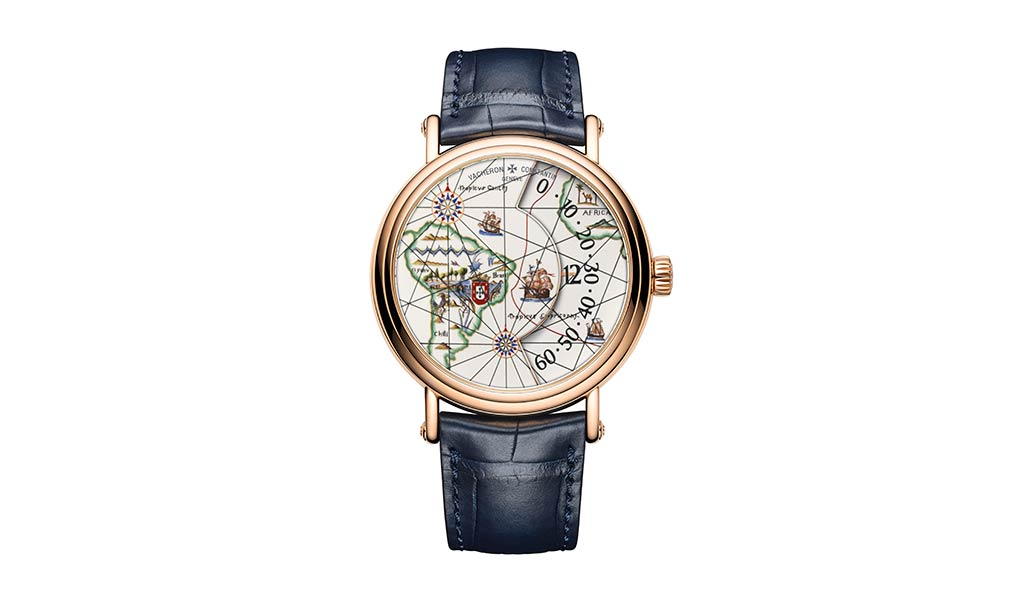 Швейцарские часы Métiers d'Art. Великие путешественники Педру Алвариш Кабрал