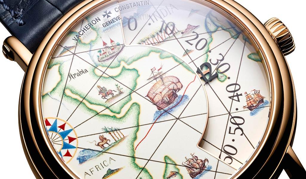 Швейцарские часы Métiers d'Art. Великие путешественники