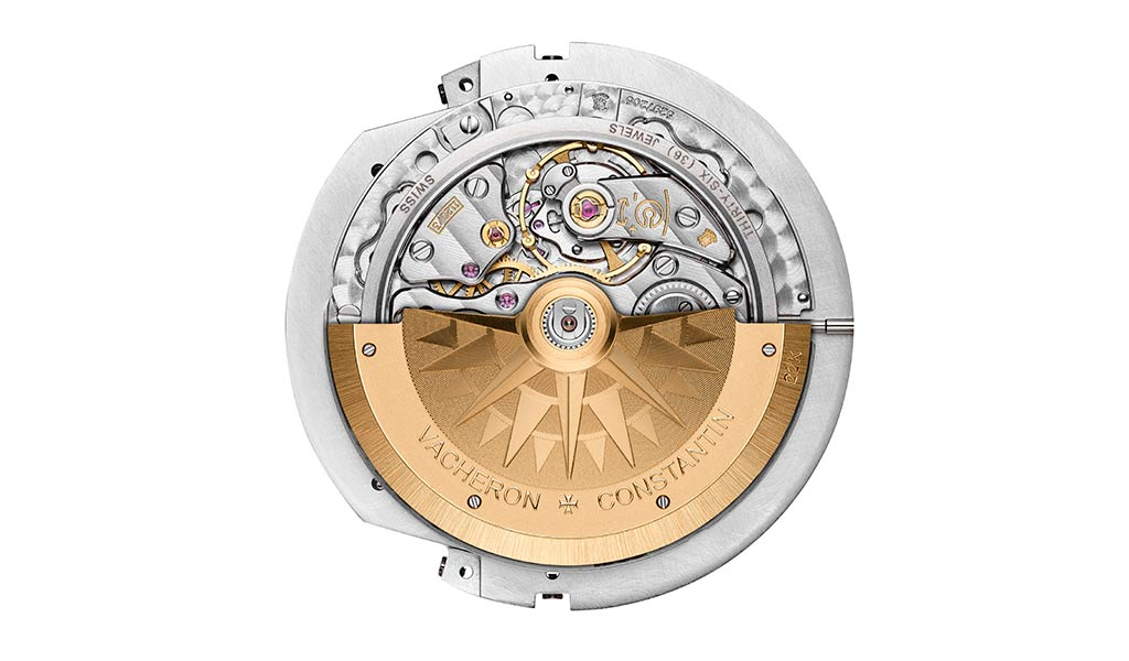 Мануфактурный часовой механизм Vacheron Constantin