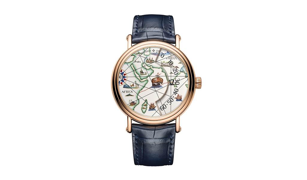 Швейцарские часы Métiers d'Art. Великие путешественники Васко да Гама