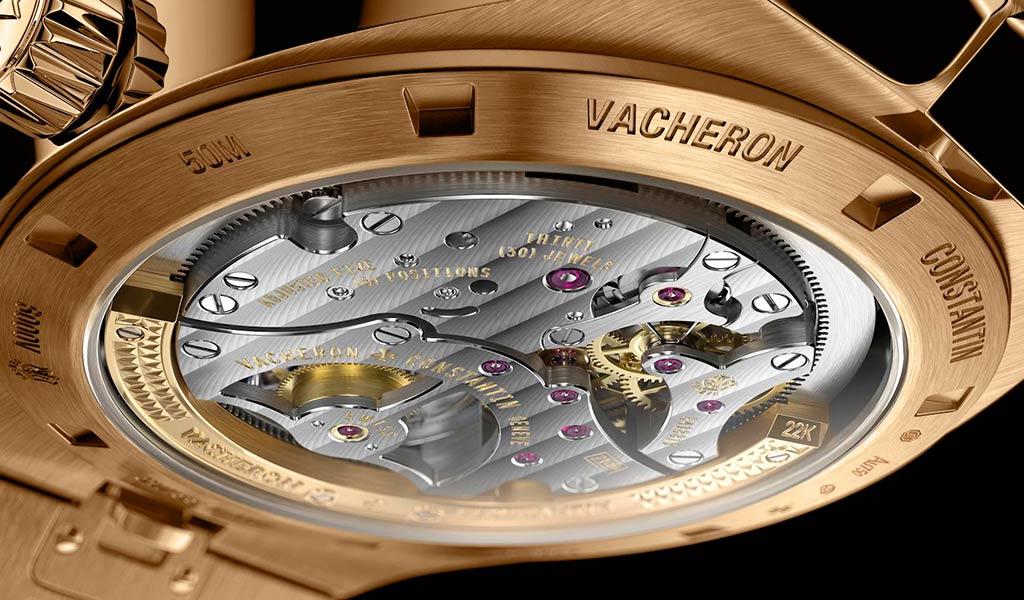 Золотые часы с турбийоном Vacheron Constantin