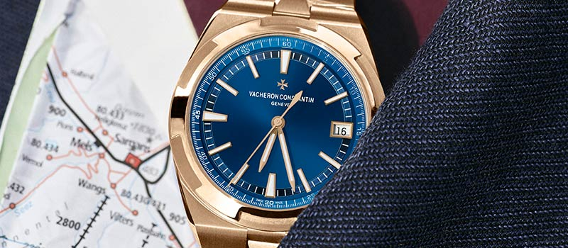 Наручные часы Overseas от Vacheron Constantin теперь в версии из розового золота