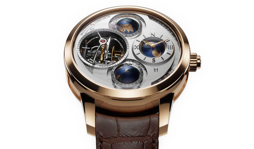Новые швейцарские часы с турбийоном Vacheron Constantin