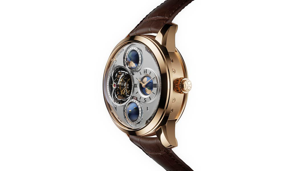 Швейцарские часы с усложнением Vacheron Constantin