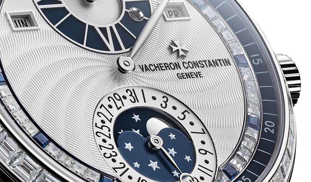 Новые швейцарские часы Moonlight Jewellery Sapphire