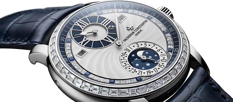 Les Cabinotiers Ювелирные часы регуляторного типа с вечным календарем — Moonlight Jewellery Sapphire