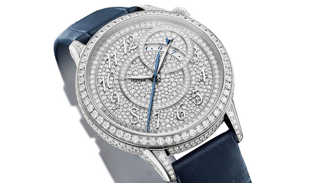 Женские золотые механические часы Vacheron Constantin