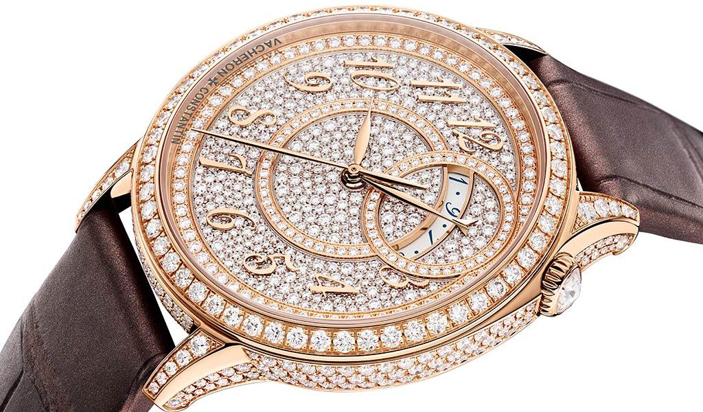 Швейцарские золотые часы Vacheron Constantin