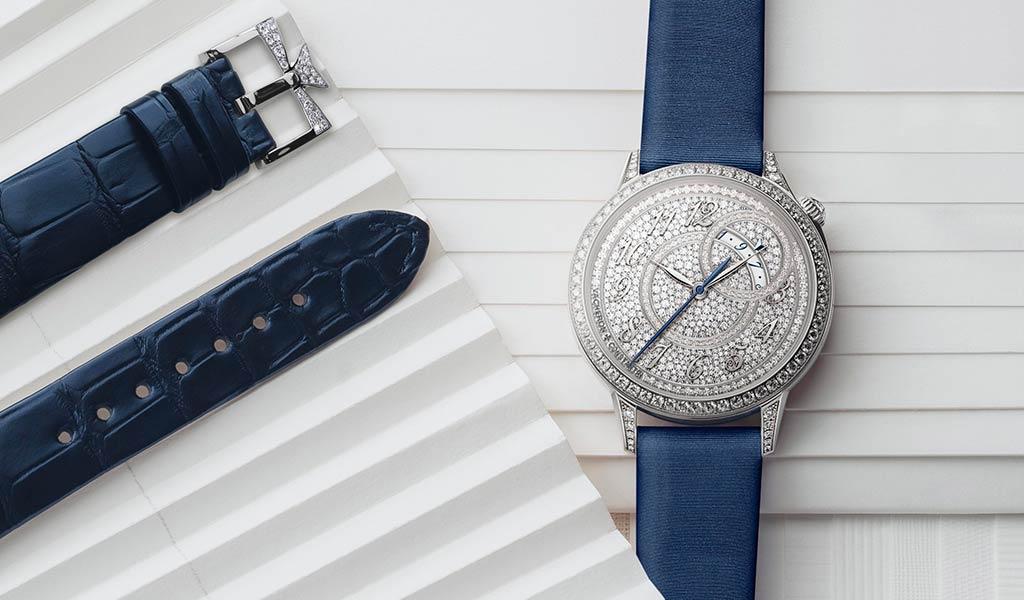 Женские швейцарские часы с бриллиантами Vacheron Constantin