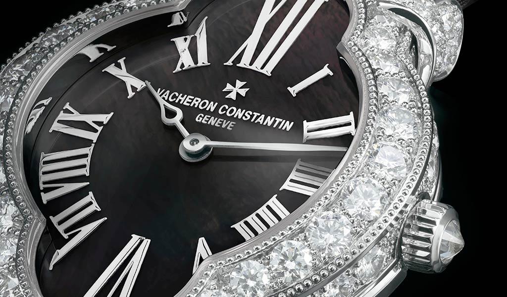 Женские часы с бриллиантами Vacheron Constantin