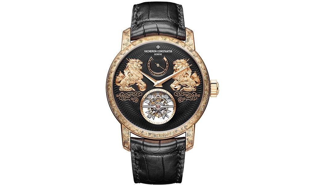 Механические часы Traditionnelle с турбийоном